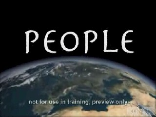 People Training Video or DVD
